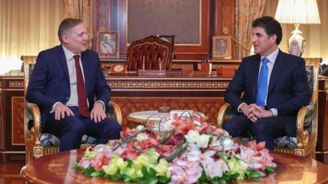 Başbakan Barzani Kürdistan'ın ilk Yunan Başkonsolosu ile görüştü