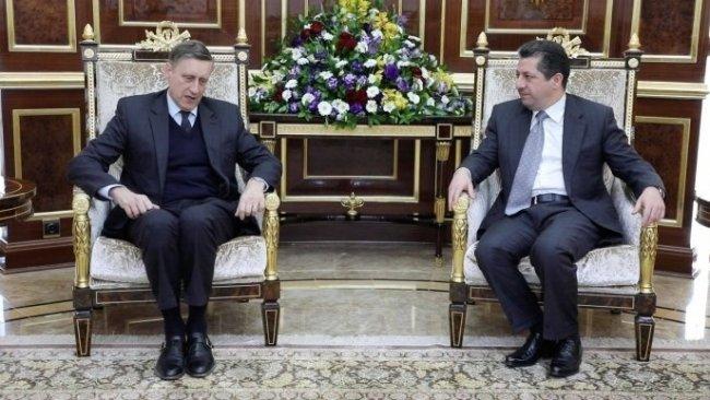 Alman Büyükelçi: Kürdistan'a desteğimiz devam edecek