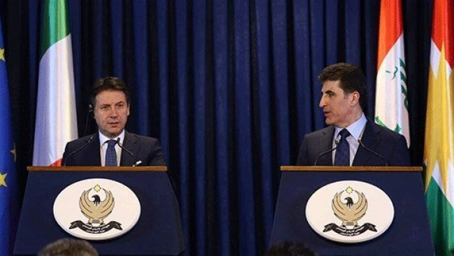Başbakan Barzani: İtalya ile çok güçlü ilişkilere sahibiz