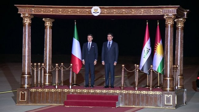 İtalya Başbakanı Giuseppe Conte Erbil'de