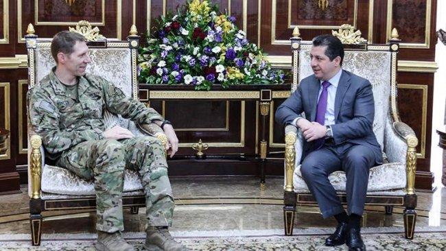 Mesrur Barzani, ABD'li General ile Suriye'yi görüştü