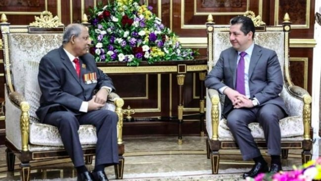 Srilanka Büyükelçisi: Kürdistan Bölgesi'ne önem veriyoruz