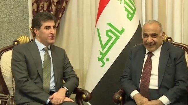 Başbakan Barzani Irak Başbakanı Abdülmehdi ile bir araya geldi