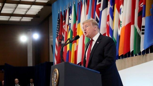 Trump IŞİD için tarih verdi: Amerikan Ordusu, Ortaklarımız ve DSGÖzgürleştirdi