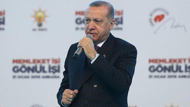 Erdoğan: HAL teröristlerinin işini bitireceğiz