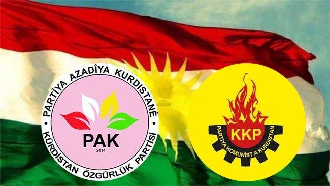 Türkiye'de PAK ve KKP'ye kapatma davası