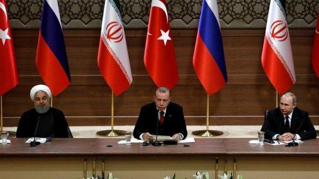 Putin, Erdoğan ve Ruhani'den Fırat'ın Doğusu yorumları