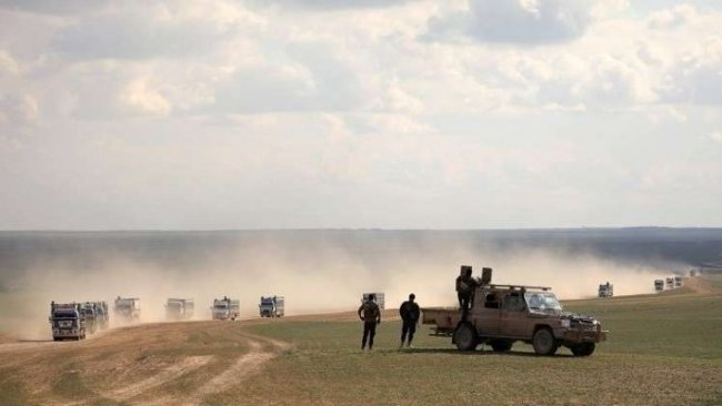 SOHR: 240 yabancı IŞİD'li daha DSG'ye teslim oldu