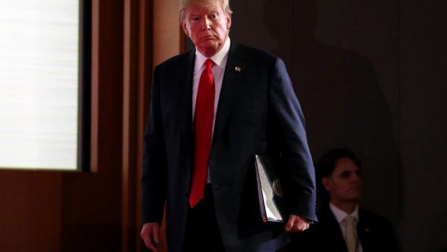 ABD Başkanı Trump: 24 saat içerisinde Suriye'yle ilgili açıklama yapacağım
