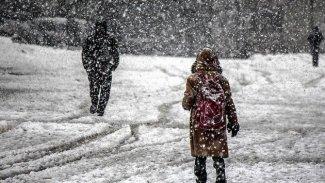 Bitlis ve Hakkari'de eğitime kar engeli