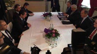 Mesrur Barzani Sergey Lavrov ile bir araya geldi