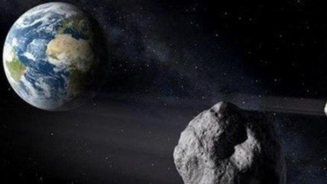 NASA açıkladı: 32 bin 300 km hızla ilerleyen göktaşı Dünya'yı teğet geçecek