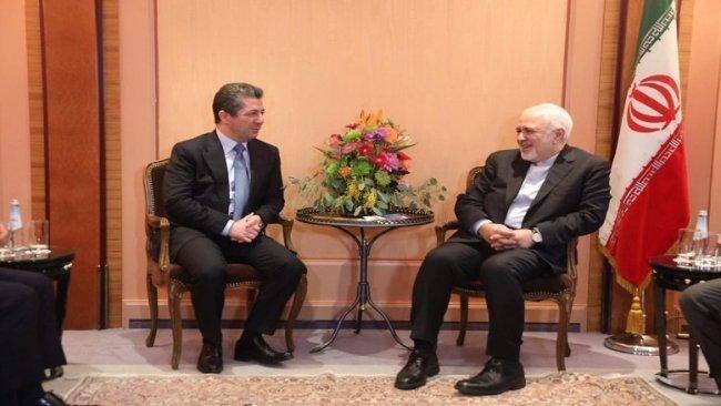 Mesrur Barzani, Cevat Zarif'le görüştü