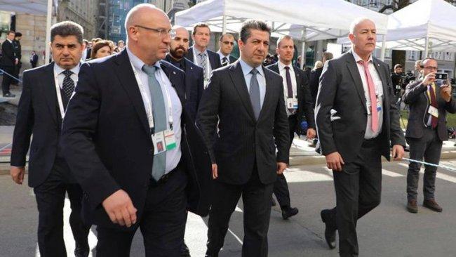 Mesrur Barzani'den yoğun diplomasi trafiği