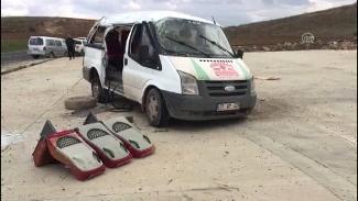 Mardin'de feci kaza: 3 ölü, 14 yaralı