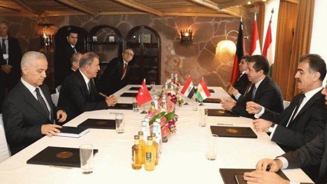 Mesrur Barzani, Hulisi Akar'ı kabul etti