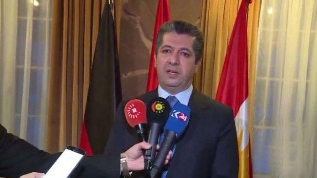 Mesrur Barzani: Kürdistan'a desteğin artarak devam etmesini istedik
