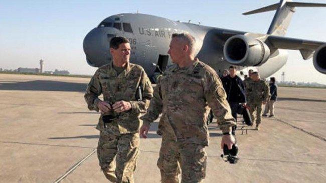 CENTCOM Komutanı Votel Irak'ta