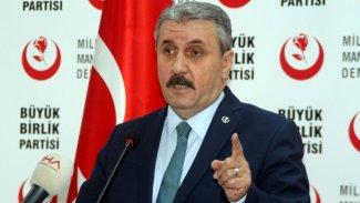 BBP: Tek stratejimiz HDP'nin kazanma ihtimaline karşı önlem almaktır