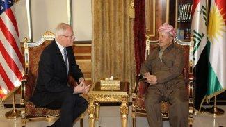 Başkan Barzani, Suriye Özel Temsilcisi James Jeffrey ile görüştü