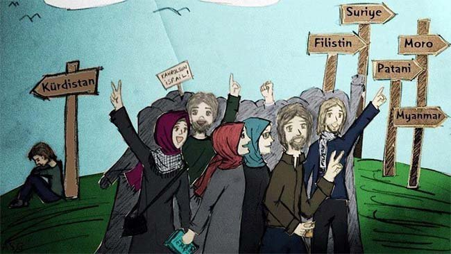 İslam, Kürtler ve Çarpık İslamcılık/Tanrıcılık Oyunları
