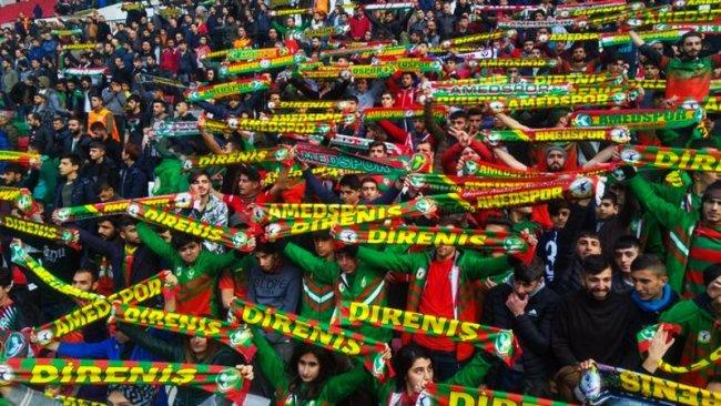 Amedspor'un 64 maçlık deplasman yasağı kaldırıldı