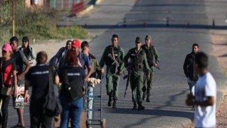 Venezuela sınırında gerilim: 1 ölü