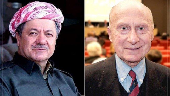 Başkan Barzani'den taziye mesajı: Dorin Kürdistan halkının dostuydu