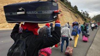 BM: 3,4 milyon kişi Venezuela'yı terk etti