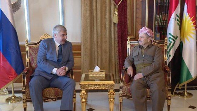 Başkan Barzani'den Rusya'ya: Rojava Kürtleri için rol üstlenin!