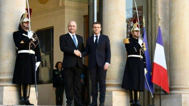 Macron'dan Suriye açıklaması: Koalisyon DSG'nin yanında olmalı