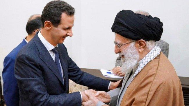 Beşar Esad, iç savaştan sonra ilk kez İran'da