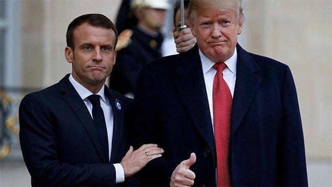 Fransa ABD'nin Suriye'de asker bırakmasından memnun