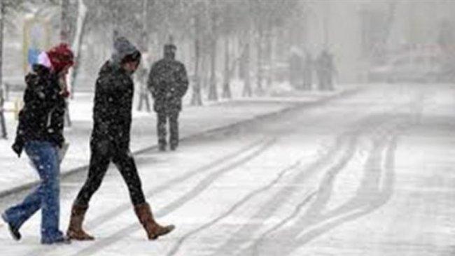 Kürt illerinde yoğun kar yağışı uyarısı