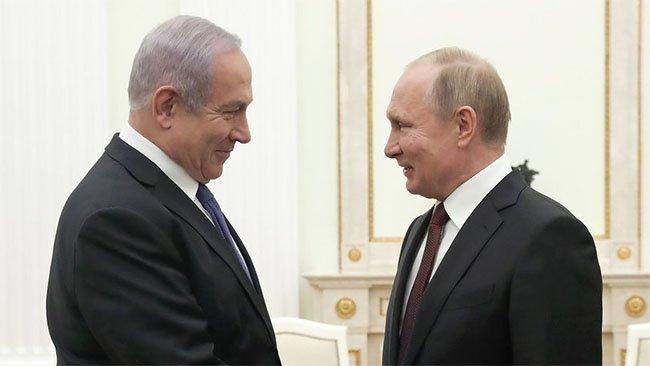 Putin ile Netanyahu'dan Suriye kararı!