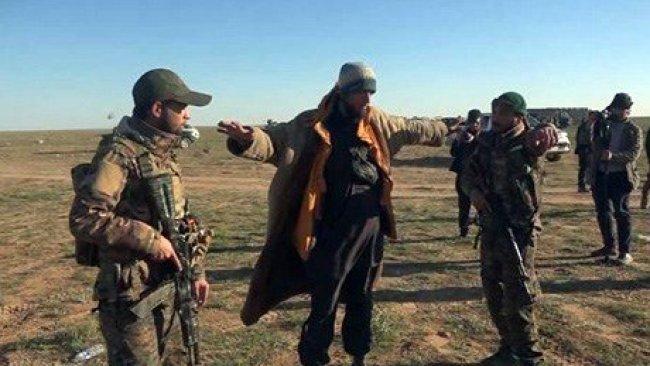 IŞİD'in bir Emiri daha YPG'ye teslim oldu