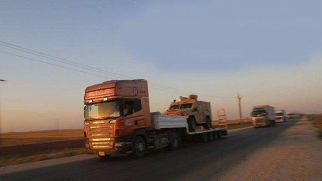 ABD'den YPG'ye 300 Tırlık yardım