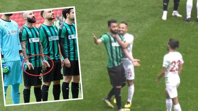 Amedspor-Sakaryaspor maçında kesici alet iddiası