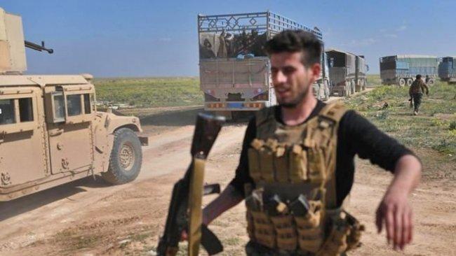 3 bin IŞİD'li ve ailesi DSG'ye teslim oldu