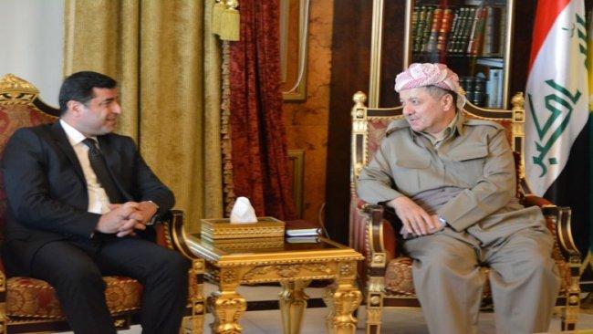 Demirtaş'tan Başkan Barzani'ye mesaj: Ulusal birlikten vazgeçmeyin