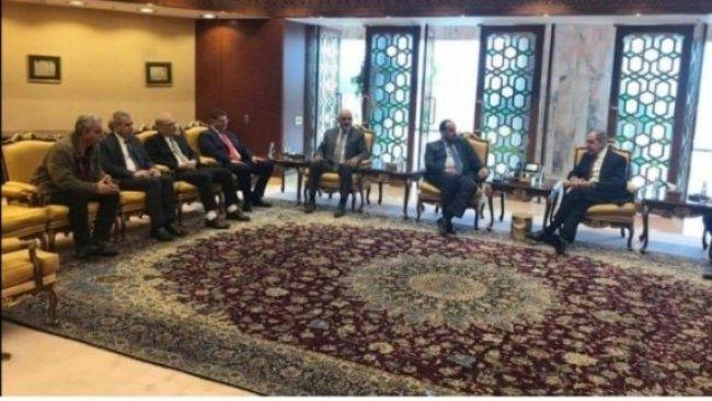 ENKS'in de bulunduğu Suriye Müzakere Heyeti, Sergey Lavrov ile görüştü