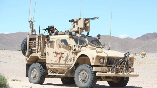 Irak Ordusu'nun askeri ekipmanı DSG'ye gönderildi