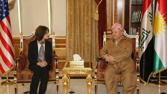 Başkan Barzani, ABD'li heyeti kabul etti