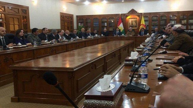 Başkan Barzani başkanlığında toplanan KDP'den açıklama