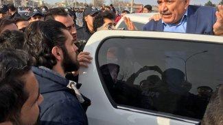 HDP'li eski belediye başkanına Urfa mitinginde gözaltı