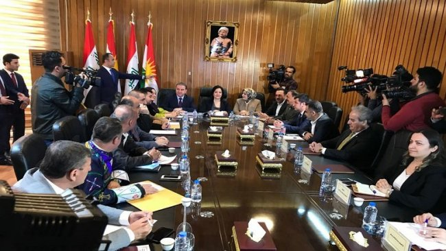 Kürdistan Parlamentosu'nda komisyonlar toplantısı sona erdi