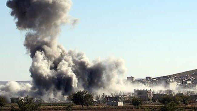 DSG, IŞİD'in en büyük cephane deposunu imha etti