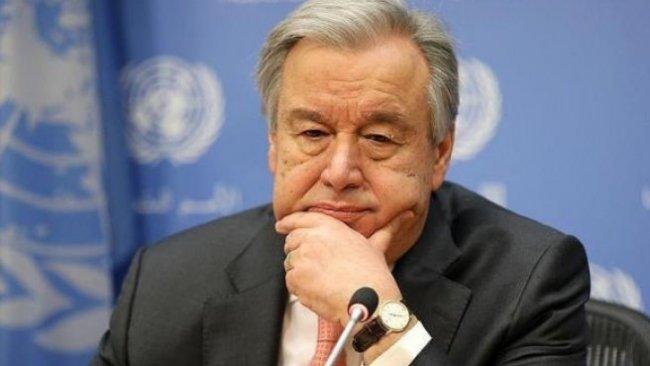 Guterres: Düşen Etiyopya uçağında 21 BM çalışanı yaşamını yitirdi