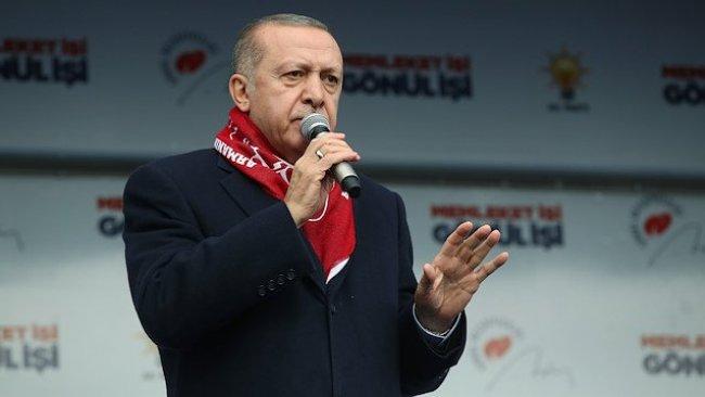 Erdoğan: Oy verenlere terörist demedim, oy verilenlere terörist diyorum