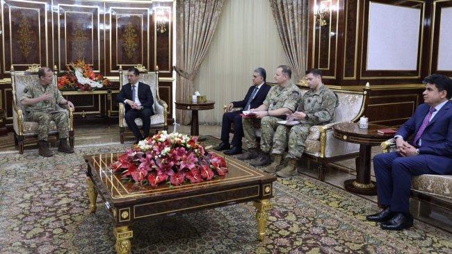 Mesrur Barzani: Tehlikenin önüne geçebilmek için tüm taraflar koordine olmalıdır